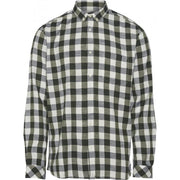 knowledgecottonapparel-long-sleeve-checked-slub-shirt