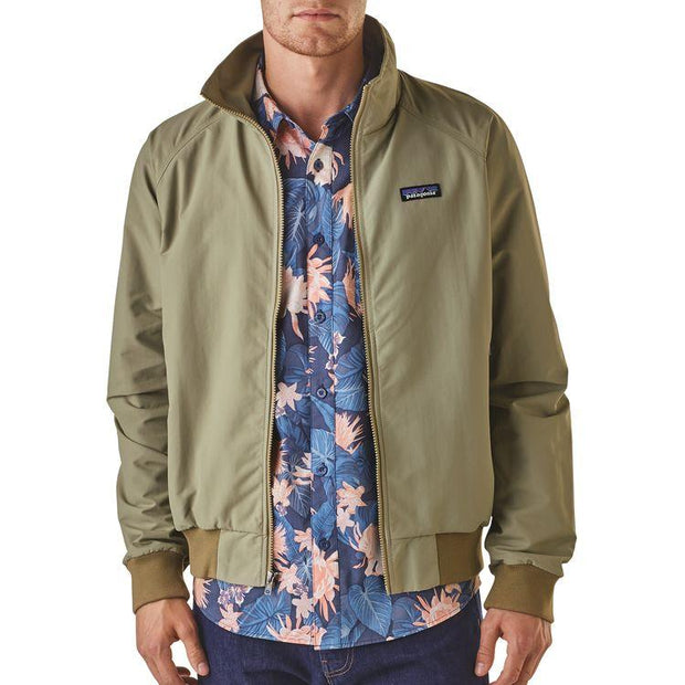 Veste-Patagonia-Casual-Beige-Face-Ouverte