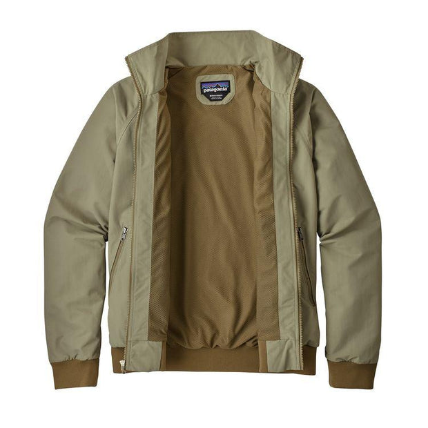 Veste-Patagonia-Casual-Beige-ouverte