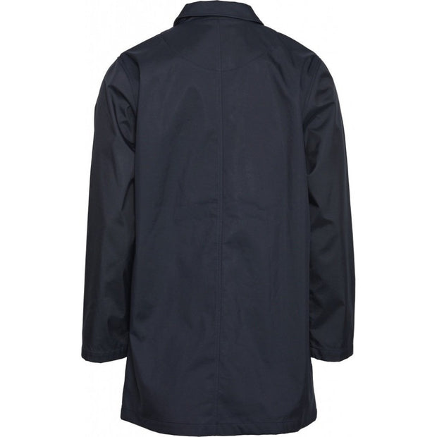 Veste KnowledgeCotton Apparel BEECH long carcoat jacket - Total Eclipse - Echoppe Sauvage