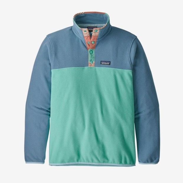 Veste Patagonia M's Micro D Snap-T P/O Light Beryl Green - Echoppe Sauvage