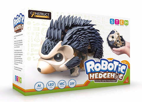 Construct and Create Robotic Hedgehog