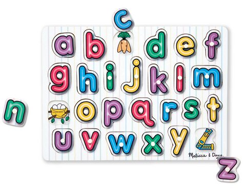 Melissa and Doug See inside alphabet puzzle