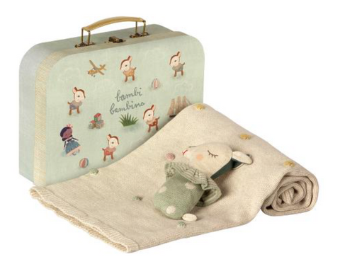 Maileg Baby Gift Set - Dusty Mint