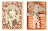 Maileg Baby Girl Mouse in Matchbox