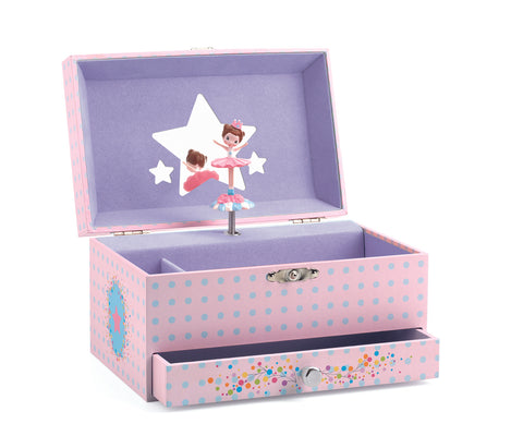 Djeco - Ballerina jewellery music box