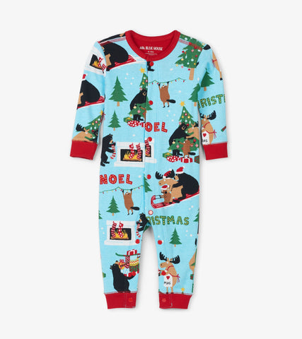 Little Blue House - Wild About Christmas Onesie (Baby) *Preorder