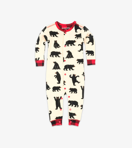 Little Blue House - Black Bear Onesie (Baby)