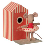 Maileg Beach Mouse - Little Sister *Preorder