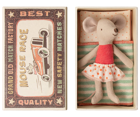 Maileg Little Sister in Matchbox
