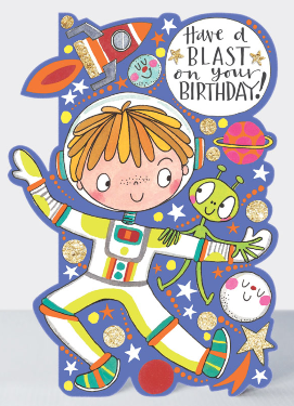 Have a blast birthday card