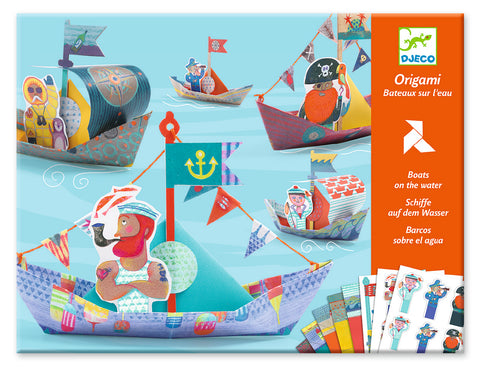 Djeco Origami - Boats on the water