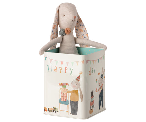 Maileg Bunny in a Tin - Large