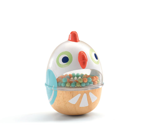 Djeco Baby chicken rattle