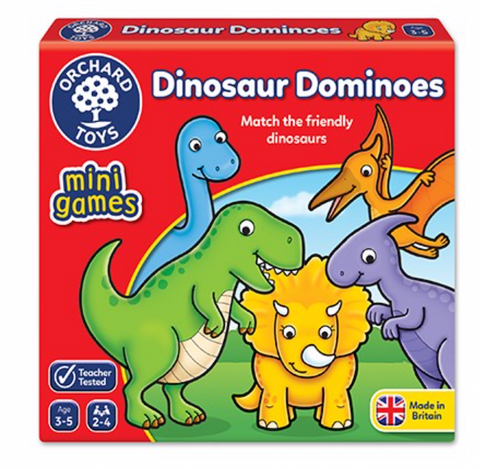 Orchard Toys Mini Game Dino dominos