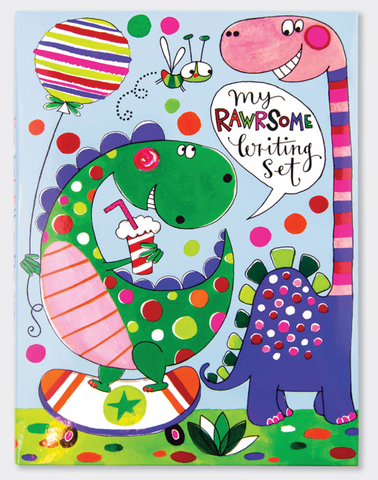 Rachel Ellen Dinosaur writing set