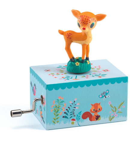 Djeco Fawn in the woods music box