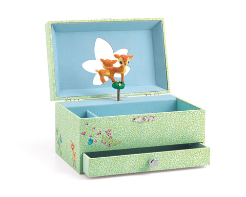 Djeco Fawn jewellery music box