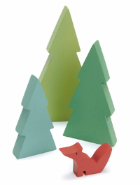 Tender Leaf Toys Fir Tops