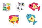 Djeco I love fish craft set
