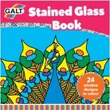GALT Stained glass colouring book