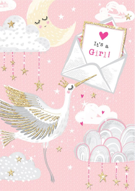 PICCOLO – Baby girl card
