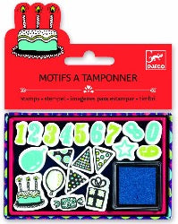 Djeco Stamper Set - Happy Birthday