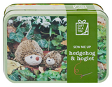 Apples to Pears Hegehog and hoglet in a tin