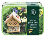 Apples to Pears Insect house in a tin