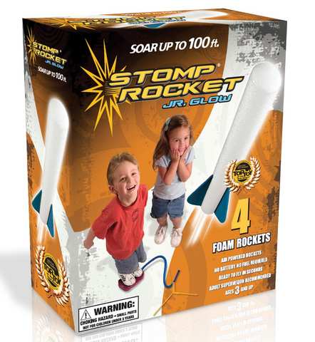 Stomp rocket junior glow high