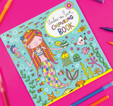 Rachel Ellen Mermaid colouring book