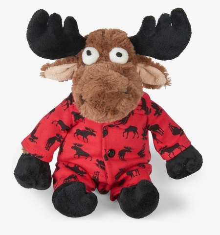 Little Blue House Moose Plush Animal in PJs