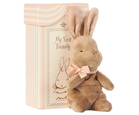 Maileg Pink Bunny in a Box