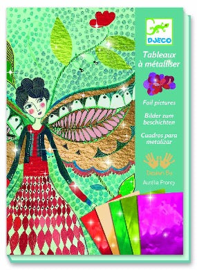 Djeco Foil Art - Fireflies