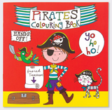 Rachel Ellen Pirate colouring book