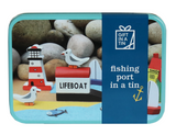 Apples to Pears Fishing port in a tin