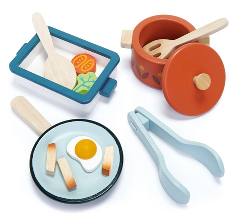 Tender Leaf Toys Pots and Pans