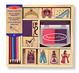 Melissa & Doug Wooden stamper - Princesses