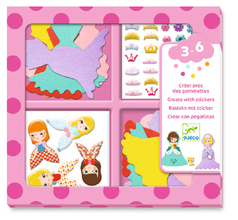 Djeco I love princesses craft set