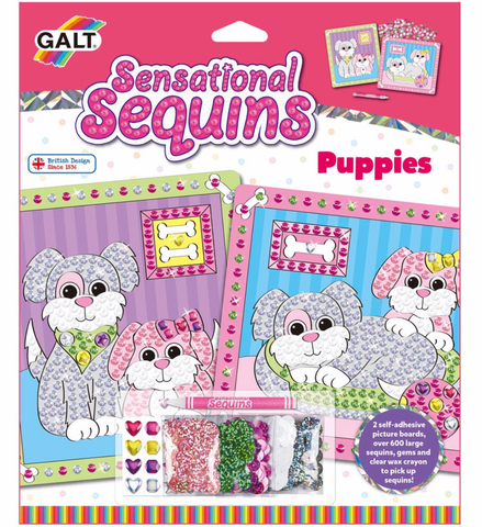GALT Toys Puppies sequin art