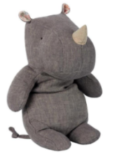 Maileg Safari Friends Rhino Grey (Small)
