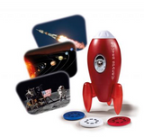 Brainstorm Outer Space Rocket Projector & Nightlight