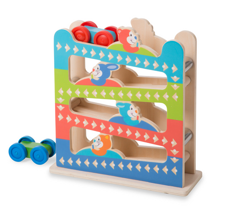 Melissa and Doug Roll and ring ramp tower