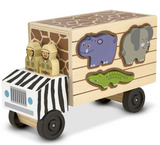 Melissa and Doug Animal rescue wooden puzzle