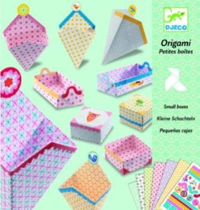 Djeco Little boxes origami