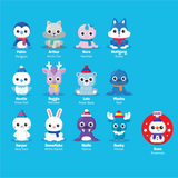 Playfoam Pals Snowy friends (Series 3)