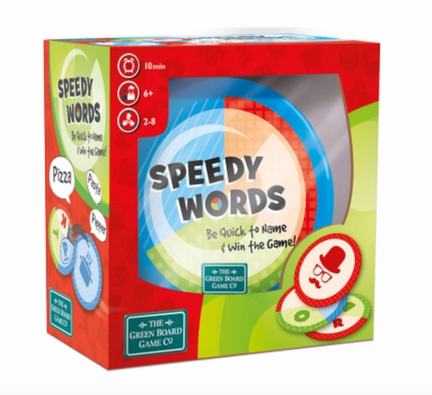 Green Board Games Speedy words