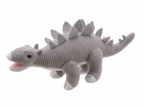 Wilberry Knitted stegosaurus dino