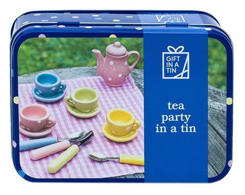 Apples to Pears Tea Party in a Tin