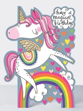 Rachel Ellen - Magical birthday unicorn